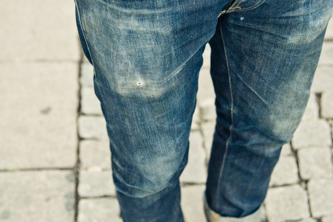 How to achieve that perfect broken in feel with your new denim.