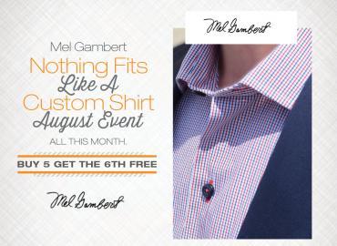 Mel Gambert – Custom Shirt Event