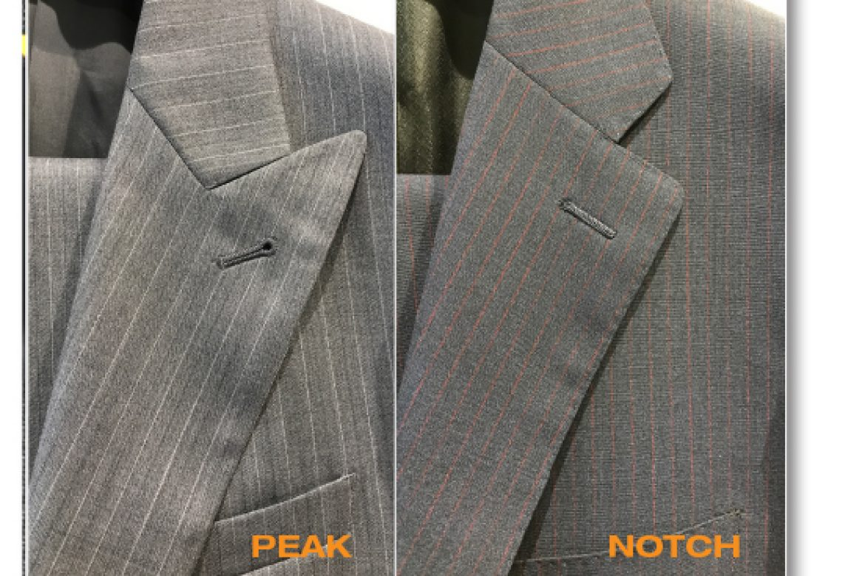 Peak or Notch Lapel?
