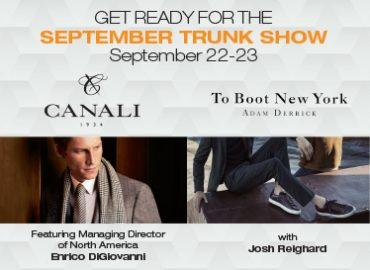 September Trunk Show / Canali & To Boot New York