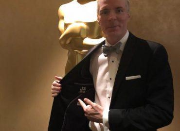 Dressing Brandon Chrostowski for the Oscars
