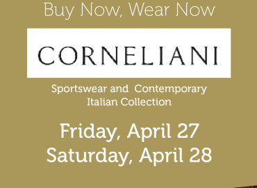 Corneliani Trunk Show – April 27 & 28