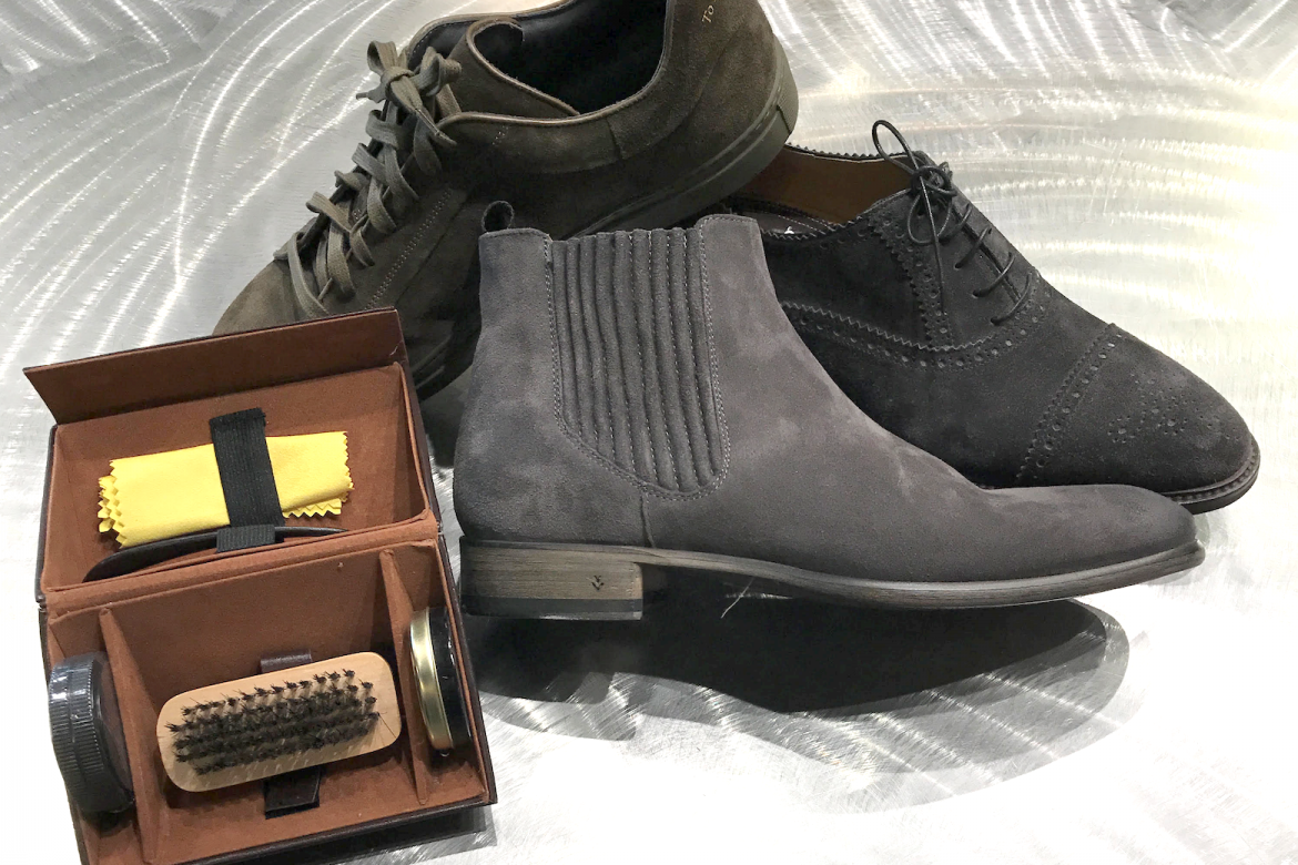 A few simple ways to take care of suede shoes.
