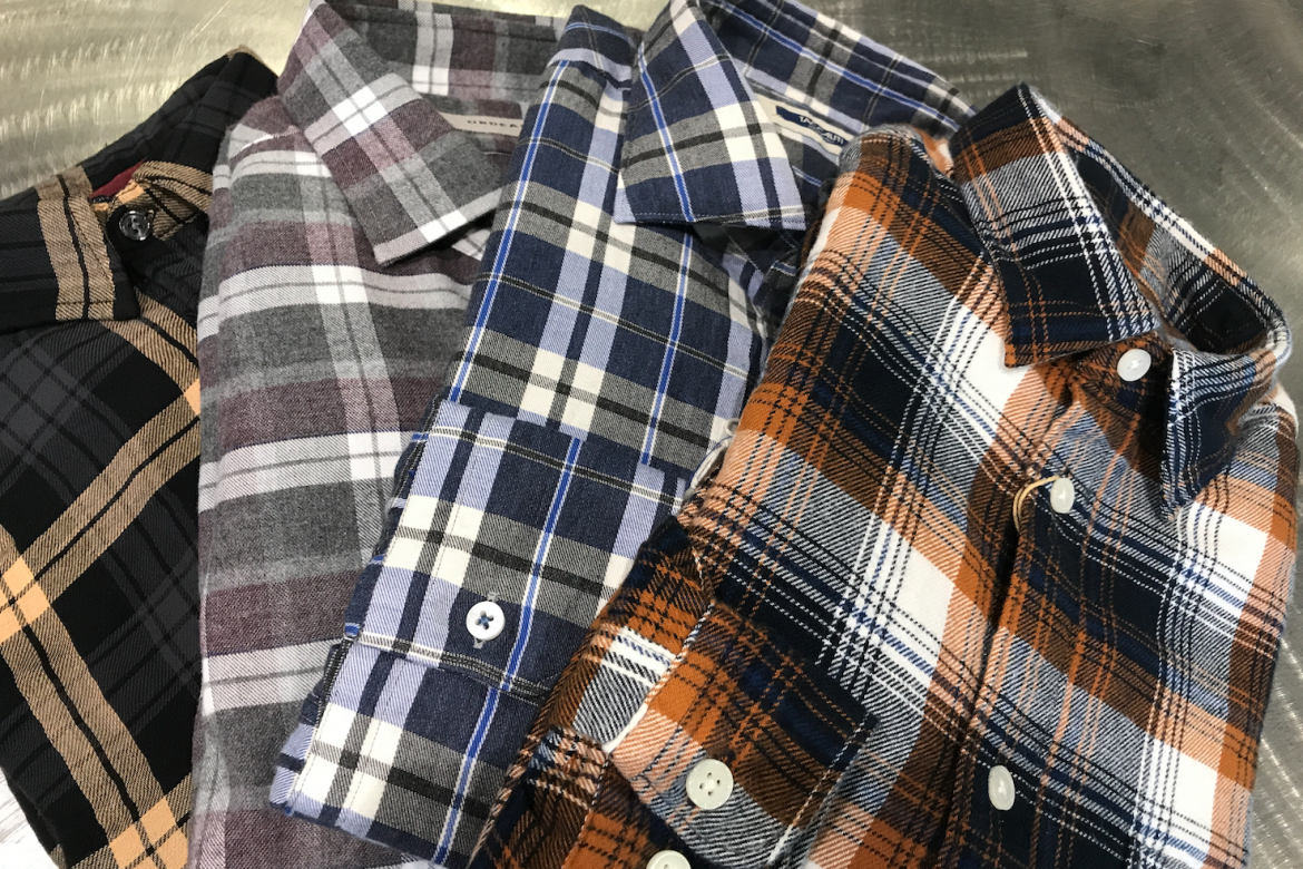 Fall is here and so are flannels.