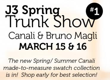 Canali & Bruno Magli –March 15 & 16